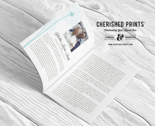 Dandelion-Program-Multi-Page-Booklet-Obituary