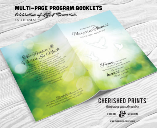 Morning Light Greenery-Program-Booklet-Cover-Front-and-back