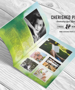Morning Light Greenery-Program-Booklet-Obituary