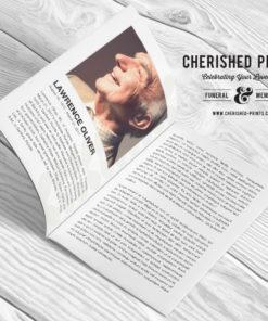 Mid-Century Modern -Program-Booklet-Obituary