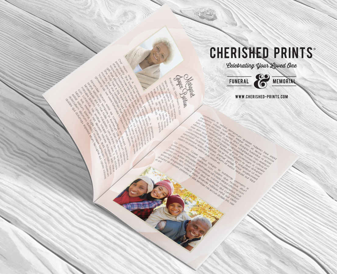 Pink-Rose-Multi-Page-Program-Obituary