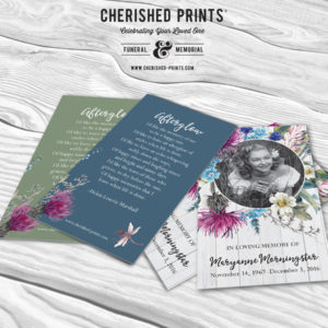 Summer-Farm-House-Wildflower-Prayer-Card-Memorial-Card