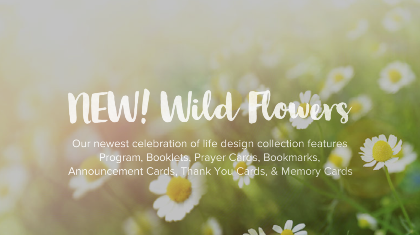 New Wild Life Memorial and Funeral Design Collection