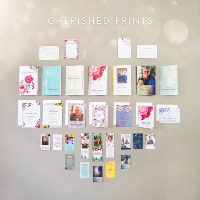 Cherished Prints Stationery Heart