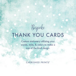 Custom Acknowledgment Cards