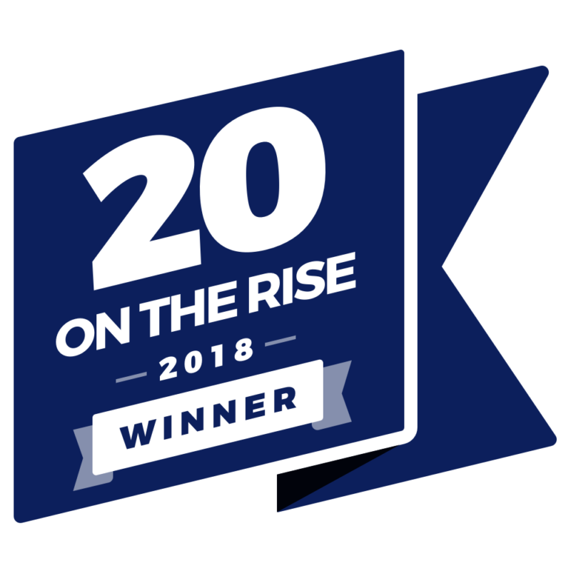 Melissa Fox-Austin Winner of the 20 on the Rise Competition