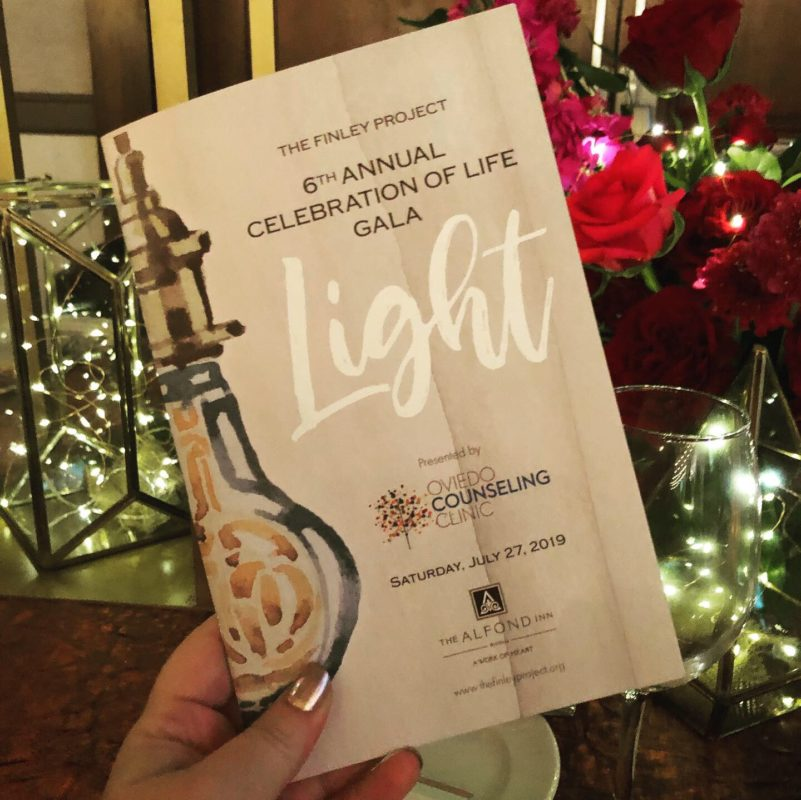 The Finley Project Gala: Light Event Program