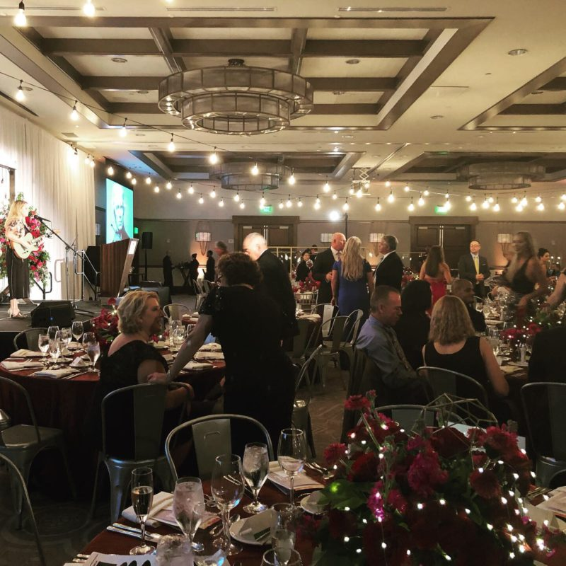 The Finley Project Gala: Light Crowd