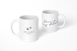 Love In Every Detail Logo WhiteMug